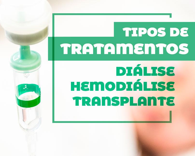 Tipos de Tratamento (Diálise, Hemodiálise, Transplante)